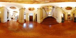 Liechtenstein Museum, ground floor - the entrance