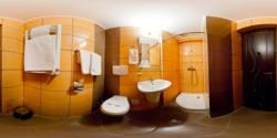 Monteoru Cazino Hotel - Bathroom