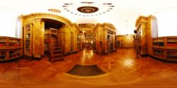 Liechtenstein Museum, ground floor - the library