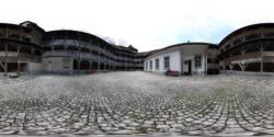 Bastionul Tesatorilor - curtea interioara