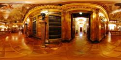 Liechtenstein Museum, ground floor - the library