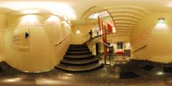 Haus Der Music, 3th floor - the stairs to 4th floor