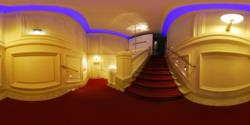 Haus Der Music, 1st floor - the stairs to the 2nd floor