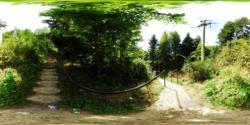 Urcarea catre Cetatea Poenari